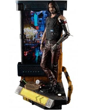 Cyberpunk 2077 statuette 1/4 Johnny Silverhand...