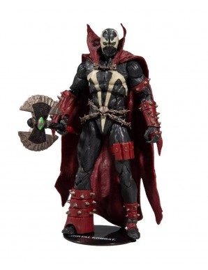 Mortal Kombat figurine Spawn with Axe Target...