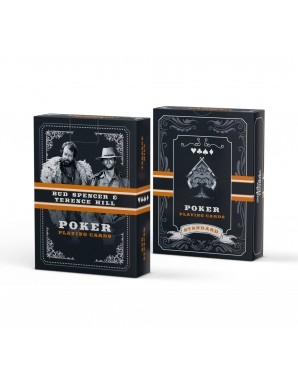 Bud Spencer & Terence Hill Western poker card game