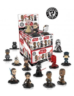 Star Wars Episode VIII figurine Mystère Mini 6...