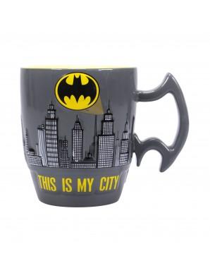 Batman mug Embossed City Scene