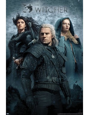 The Witcher poster Key Art 61 x 91 cm