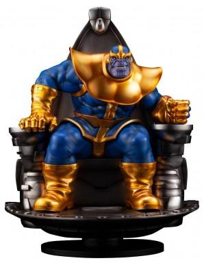 Thanos on Space Throne 45 cm - Marvel Fine Art...