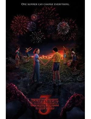 Stranger Things poster One Summer 61 x 91 cm