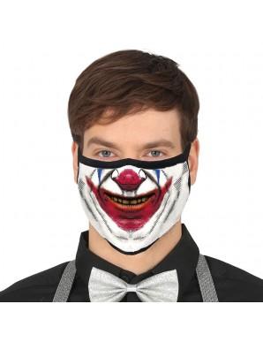 Smile reusable mask 3 layers