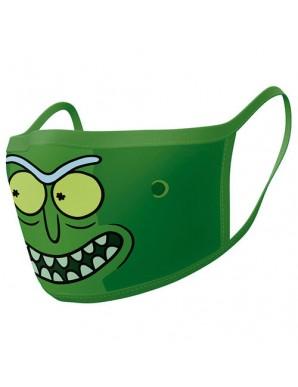 Rick et Morty pack 2 Sheet masks Pickle Rick