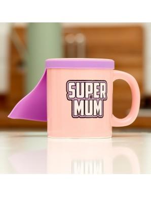 Super Mum mug avec cape