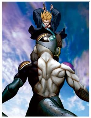 Poster Framed Dragon Ball - Trunks vs Frieza -...