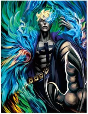 Décor Mural Encadré - One Piece - Ace -...