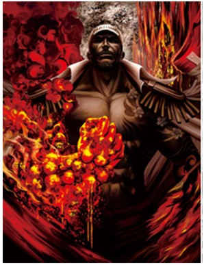 Poster Framed - One Piece - Borsalino - 3D...