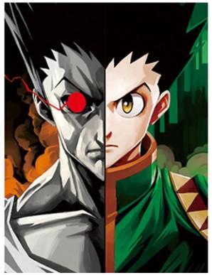 Poster Framed - Hunter x Hunter - Faces - 3D...