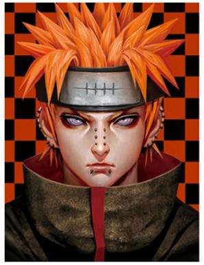 Poster Framed - Naruto - Faces - 3D Print -...