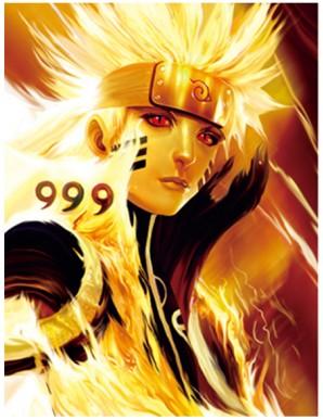 Poster Framed - Naruto - Girls - 3D Print -...