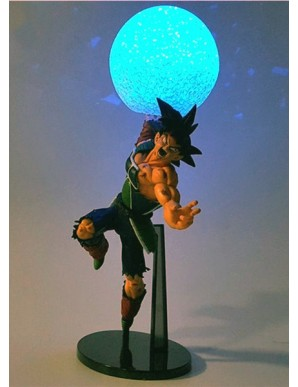 Dragon Ball - Bardock avec led - 18 cm