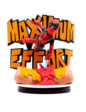 Deadpool Maximum Effort 14 cm Marvel diorama Q-Fig MAX