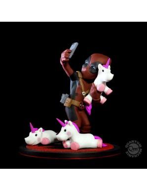 Deadpool unicornselfie 10 cm Malvel diorama Q-Fig