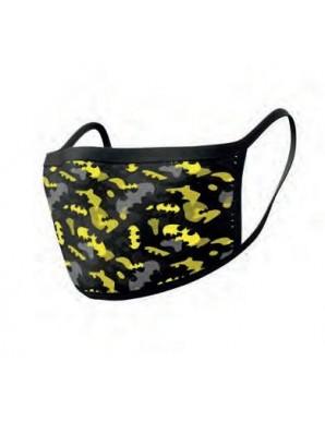 Batman pack 2 Sheet masks Camo Yellow