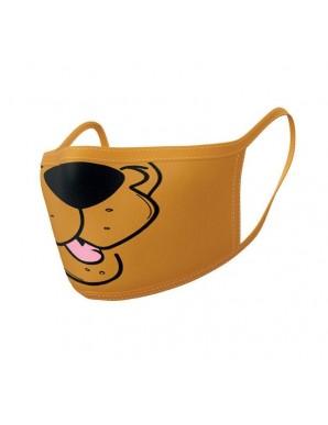 Scooby-Doo pack 2 Masques en tissu Bouche