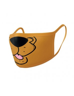 Scooby-Doo pack 2 Sheet masks Mouth