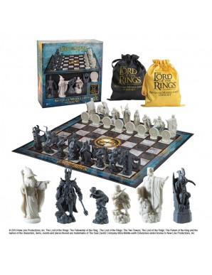 The Lord of the Rings Chess game Battle for...