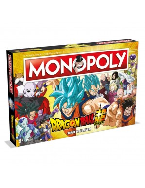 Dragon Ball Super Monopoly board game *FRENCH...