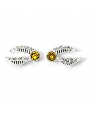 Harry Potter x Swarovski earrings Snitch...