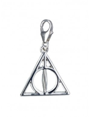 Harry Potter charm Relics of the death (argent...