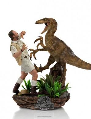 Jurassic Park Statuette 1/10 Deluxe Art Scale...