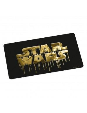 Star Wars Cutting Board Logo Gold